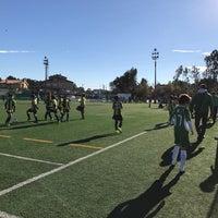 Photo taken at Complexo Desportivo De Cassufas by Rafael C. on 12/17/2016