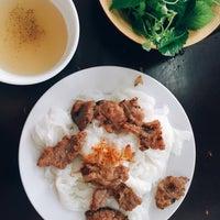 Photo taken at Bánh Cuốn Gia An by Hòa Anh Đ. on 4/9/2016