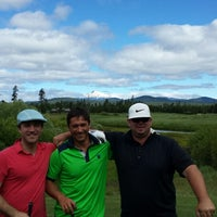 Photo taken at Crosswater Golf Course by Dana C. on 6/28/2014