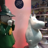 Photo taken at Moomin Shop by Skywalkerstyle on 8/8/2017