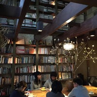 Photo taken at Cafe Bibliotic Hello! by Skywalkerstyle on 12/14/2014