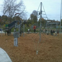 Photo taken at Rainier Playfield by Aaron A. on 10/28/2012