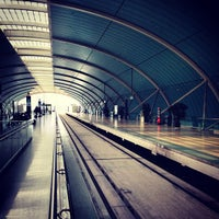 Photo taken at Maglev Train Longyang Road Station by David Y. on 3/8/2013