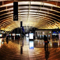 Photo taken at Shanghai Pudong International Airport (PVG) by David Y. on 3/27/2013