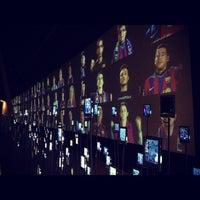 Photo taken at Museu Futbol Club Barcelona by Ksenia B. on 1/19/2013