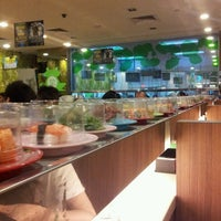 Photo taken at Sakae Sushi by Christine on 5/4/2013