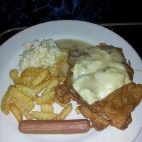Photo taken at Salmon Steak Restaurant by Christine on 6/20/2013