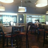 Photo taken at Pesto's Gourmet Pizza & Wine Bar by Katie S. on 4/6/2013