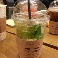 Photo taken at CAFFE INBUS by Yunkyung K. on 12/27/2013