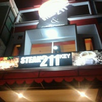 Photo taken at Steak 211 Key by Senna on 8/14/2013