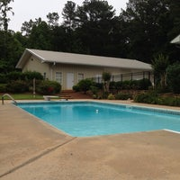 Photo taken at Lusk Family Pool by Paula C. on 6/19/2013