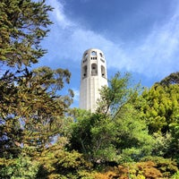 Photo taken at Coit Tower by Filip M. on 5/26/2013