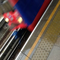 Photo taken at Greenwich DLR Station by Markku A. on 12/22/2012