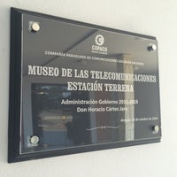 Photo taken at Estacion Terrena Aregua_ COPACO by JOSÉ M. on 10/16/2014
