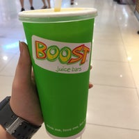 Photo taken at Boost Juice Bar by Khai Sin on 2/4/2017