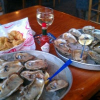 Photo taken at AJ's Seafood & Oyster Bar by Beach B. on 10/16/2012