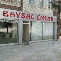 Photo taken at Baysal Emlak by Ramazan B. on 8/4/2016
