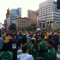 Photo taken at The Great Race Starting Line by Jill E. on 9/30/2012