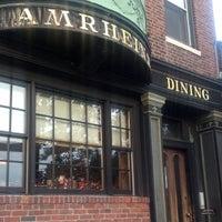 Photo taken at Amrheins Restaurant by Chad O. on 10/5/2013