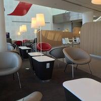 Photo taken at Air France Lounge by Yosuke H. on 4/5/2015