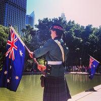 Photo taken at ANZAC War Memorial by Chris W. on 4/25/2013