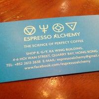 Photo taken at Espresso Alchemy by Adam S. on 1/20/2013