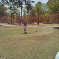Photo taken at Fox Creek Golf Course and Driving Range by Will B. on 4/13/2013
