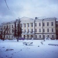 Photo taken at Усадьба Горенки графов Разумовских by Svetlana L. on 12/22/2013