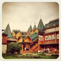 Photo taken at Wooden Palace of Tzar Alexis of Russia by Svetlana L. on 5/25/2013