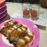Photo taken at Sakae Sushi by giri a. on 9/20/2015