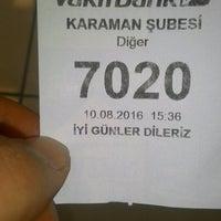 Photo taken at VakıfBank by Selim C. on 8/10/2016
