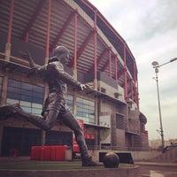 Photo taken at Estádio do Sport Lisboa e Benfica by Thiago S. on 6/5/2013