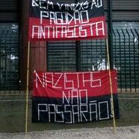Photo taken at Praça Afonso Arinos by Babi B. on 4/20/2013