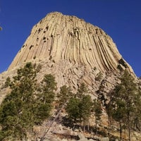 Photo taken at Devils Tower National Monument by Amanda S. on 10/22/2014