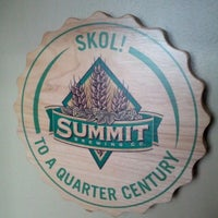 Photo taken at Summit Brewing Company by Annalise K. on 2/1/2013