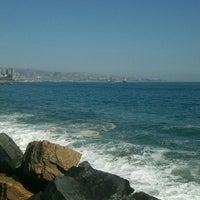 Photo taken at Viña del Mar by Ligia O. on 4/12/2013
