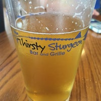 Photo taken at Thirsty Sturgeon Bar & Grille by Mike W. on 7/13/2017