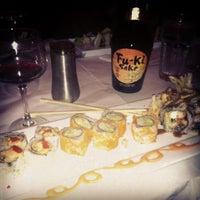 Photo taken at Butterfly Sushi Bar & Thai Cuisine by Jen on 9/27/2012