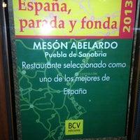 Photo taken at Restaurante Abelardo by Javier F. on 8/3/2013