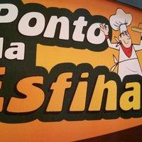 Photo taken at Ponto da Esfiha by Jose Lucio K. on 8/3/2013
