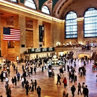 Foto tirada no(a) Grand Central Terminal por Christiane M. em 10/1/2013