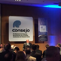 Photo taken at Consejo Profesional de Ciencias Económicas de la Ciudad Autónoma de Buenos Aires by Luciano G. on 12/13/2016