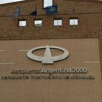 Foto tomada en Aeropuerto Internacional de Mendoza - Gobernador Francisco Gabrielli (El Plumerillo) (MDZ) por Luciano G. el 1/19/2013