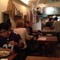 Photo taken at Piccolo Cafe by michele c. on 9/28/2012