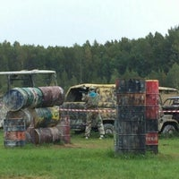 """Photo taken at Paintball park """"PIF PAF"""" by Oskars M. on 9/25/2015"""