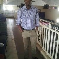 Photo taken at Benin Airport (BNI) by Oriafo H. on 5/10/2016