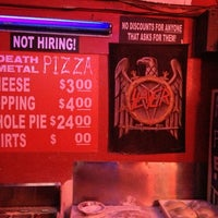 Photo taken at Hoek's Death Metal Pizza by Michael R. on 11/2/2012