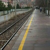 Photo taken at Saimekadın Banliyö İstasyonu by Murat Y. on 3/25/2016