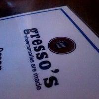 Photo taken at Gresso's Restaurant & Bar by Nicole K. on 11/26/2012