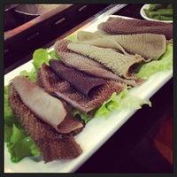 Photo taken at 重庆德庄火锅 by Ken L. on 12/16/2012